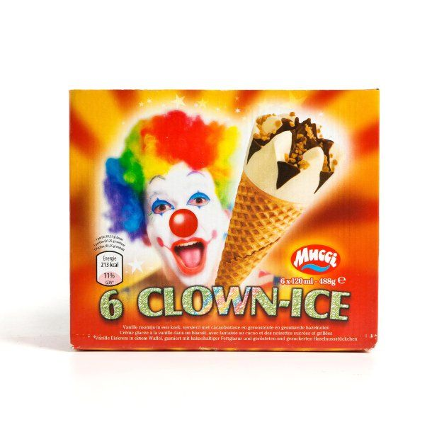Mucci Clown-Ice Hörnchen, 6 St. – Sebastian Eilers