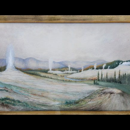 A British Artist Named Arthur Brown Yellowstone National