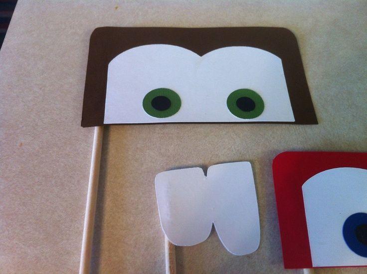 lightning mcqueen eyes photo booth - Buscar con Google