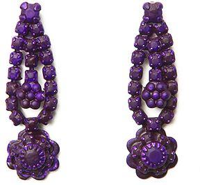 Tom Binns Neo Neon Flower Earrings on shopstyle.com $195