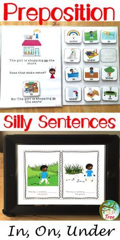 Working on prepositions? Have students with preposition confusion of in, on, and under? Show students that using the wrong preposition completely changes the meaning of a sentence with these silly and engaging activities.