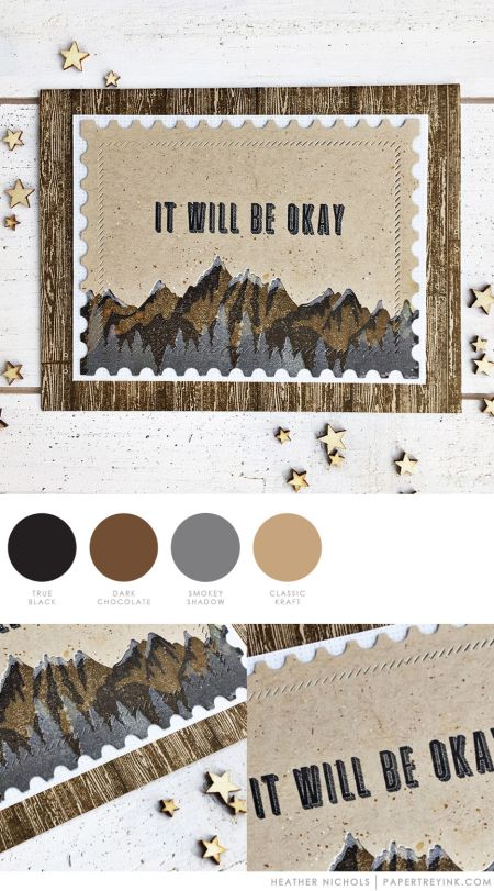 Okay by Heather Nichols for Papertrey Ink