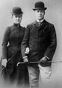 ♥ Wilhelmina en Hendrik van 17 oktober 1900, een dag na de bekendmaking van de verloving.