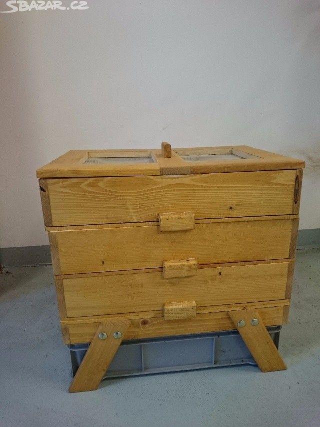 Dřevěný vermikompostér - obrázek číslo 1