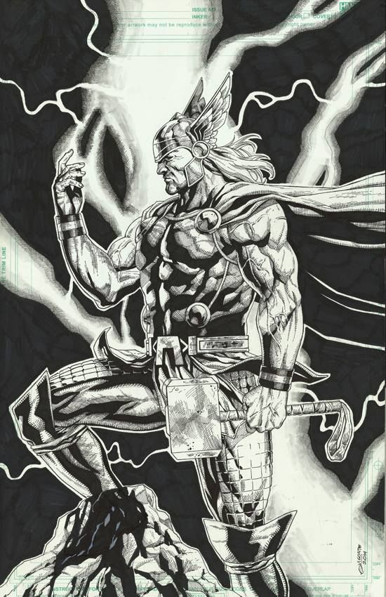 Thor by Geebo Vigonte *