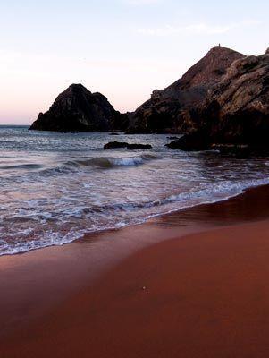 Playas rojas