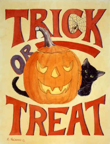 """""""Trick or Treat"""" by Maureen McCarthy"""