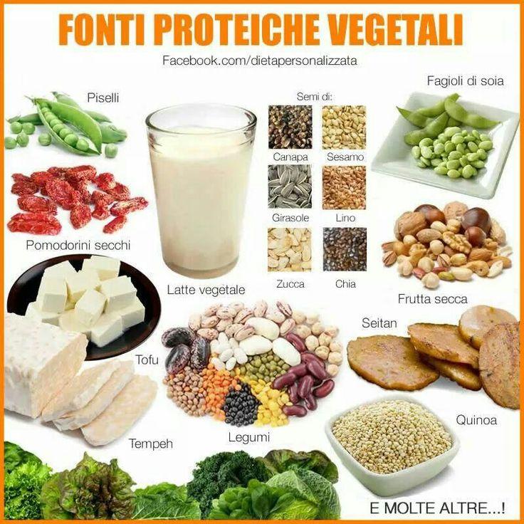 Fonti di #proteine vegetali