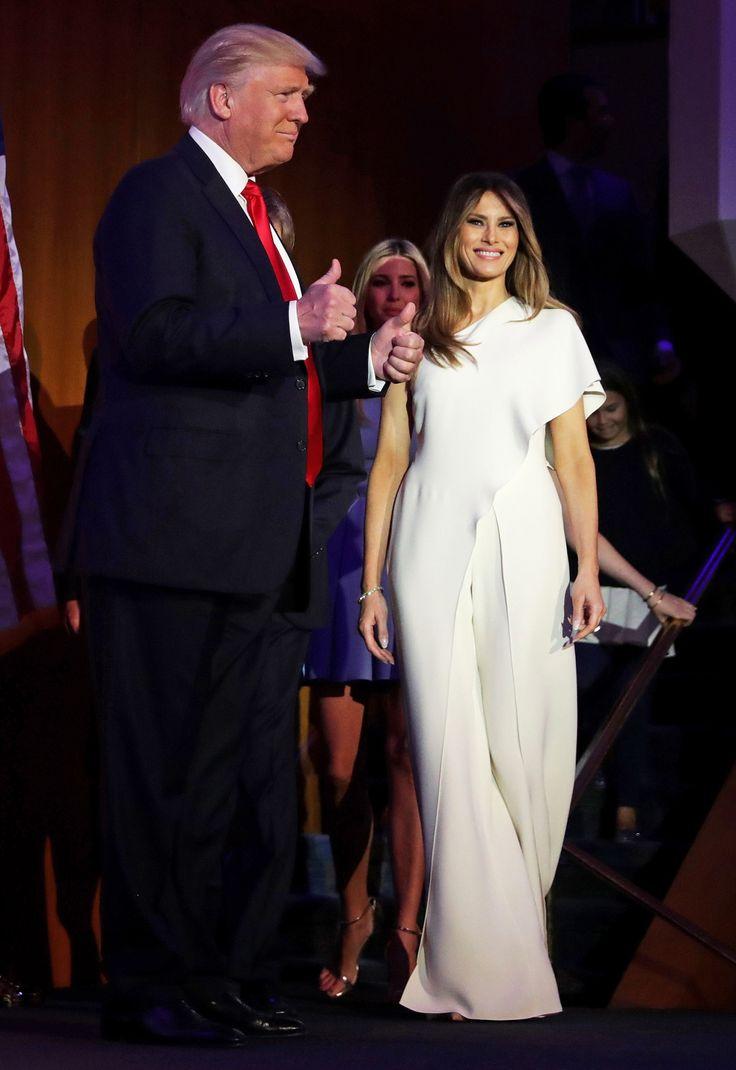 Melania Trump Wears a Ralph Lauren Jumpsuit on Election�Night