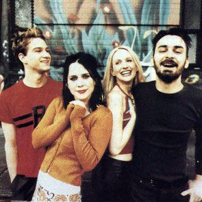 My favorite band when I was 17 and then they split up.. Back together now after all those years :) -Veruca Salt