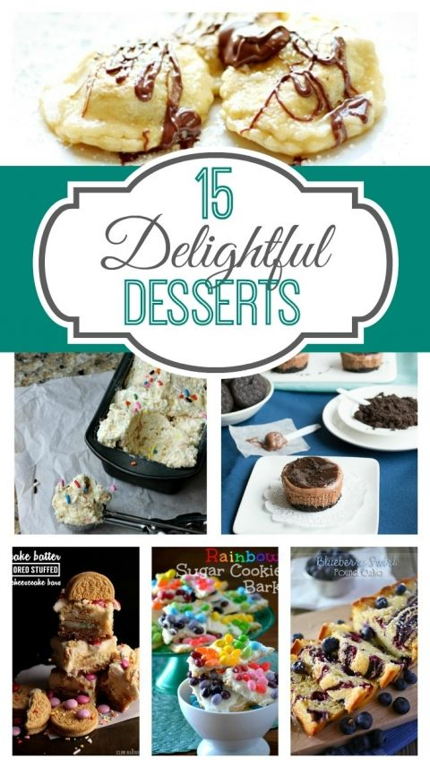 15 Delightful Desserts on www.whitelightsonwednesday.com