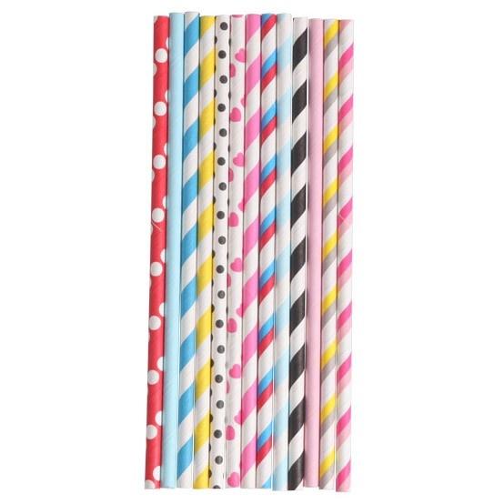 '80s Mix Straws at Lark