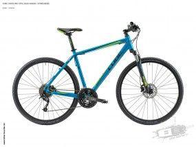 Curve Pro 2014, blue/green - Fitnessbike