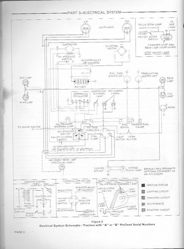 I Need A Wiring Diagram For A Ford 3000 Tractor Approx 1973 Tractors Ford Diagram