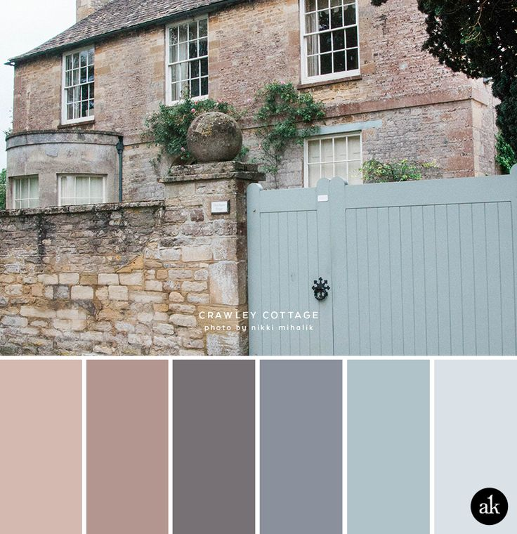 a Downton-Abbey-inspired color palette