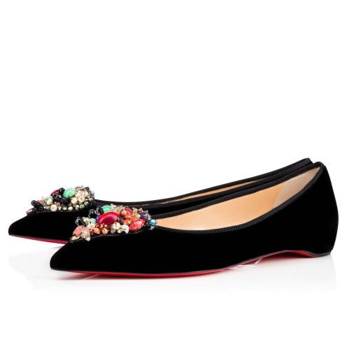 Women Shoes - Diva Cora Velvet - Christian Louboutin