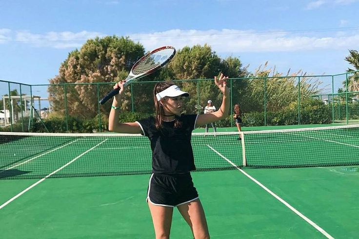 Serving variety of sports at our Kipriotis Hotels!  https://goo.gl/mTP3BP  #KipriotisHotels #Sports #Tennis #Greece  Photo credit: @daniellemoas