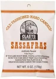 Claeys Candies was established in 1919 with a commitment to quality that continues today. Through three generations of candy makers, Claeys has gained a reputation for producing smooth textured, deliciously flavorful old-fashioned hard candies. Old fashioned Sassafras drops.