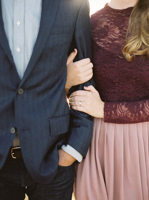 Breathtaking Cliffside Engagement