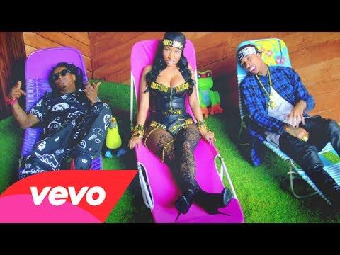 Young Money - Senile (Explicit) ft. Tyga, Nicki Minaj, Lil Wayne (+playl...