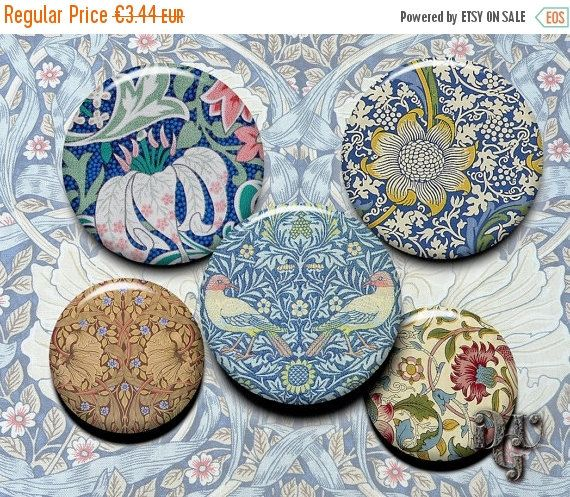 35% OFF SALE WILLIAM Morris Deco Digital by DreamUpGraphic on Etsy