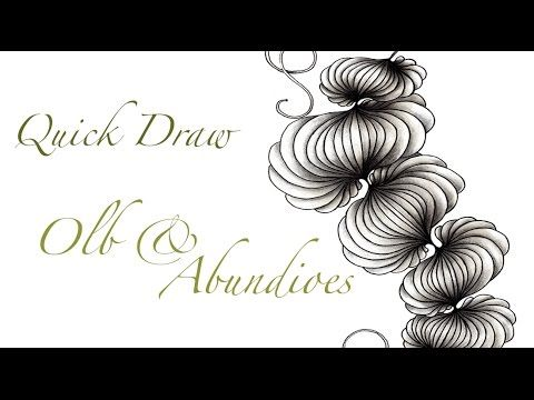 a little lime: VIDEO - Quick Draw - Olb & Abundies