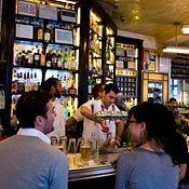 Schiller's Liquor Bar - Keith McNally's  uber-hip French-American bistro. 131 Rivington St.