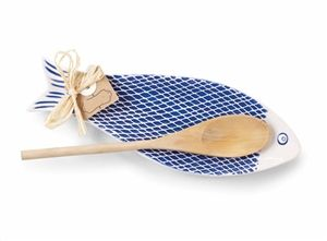 Ceramic Fish Spoon Rest | LaBelle's General Store