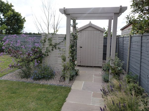 Best 25  Fence paint colours ideas on Pinterest | Grey fence paint ...