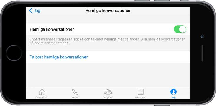 Skicka helmliga meddelanden i Facebook Messenger.  Nu kan användare i Facebook Messenger hålla sina konversationer krypterade och således hemliga. Man kan välja att kryptera konversationerna så att varken Facebook eller polisen kan se vad de innehåller.