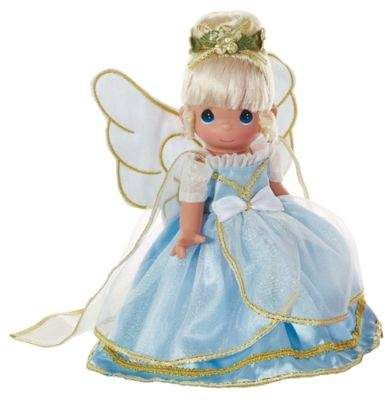 Precious Moments® The Doll Maker 9-Inch Angel From Above Doll with Blonde Hair
