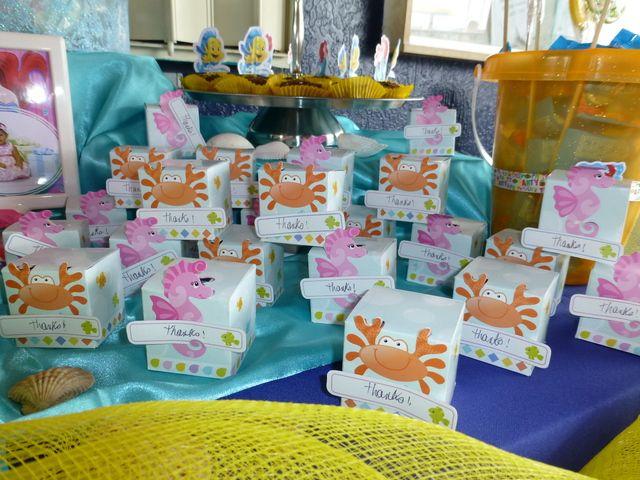 Little Mermaid Birthday Party Ideas. Mermaid Party FavorsMermaid ... & 100 best Little Mermaid Party Ideas images on Pinterest | Birthdays ...