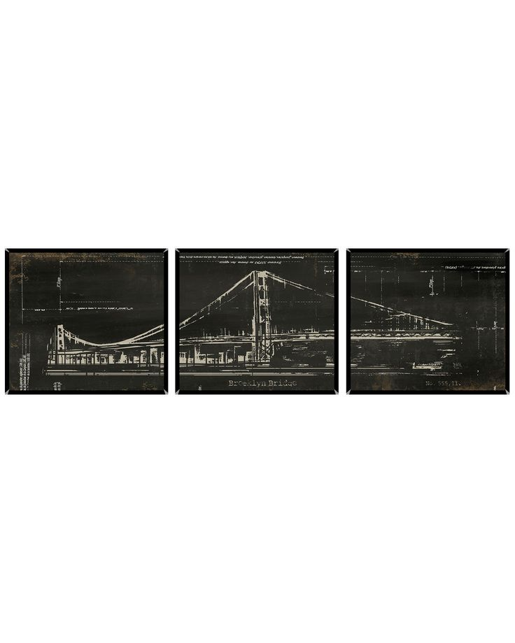 "Spotted this ""Brooklyn Bridge Triptych"" Set of 3 Print on Rue La La. Shop (quickly!)."