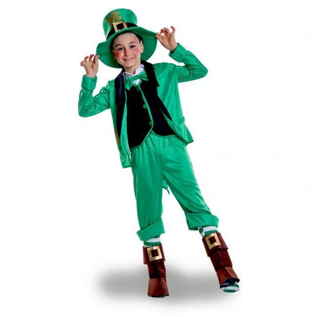 Déguisement Elfe Saint Patrick's garçon #costumespetitsenfants #nouveauté2017