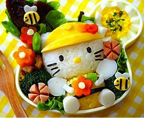 Fun Bento Boxes- 10 reasons to love themキティ