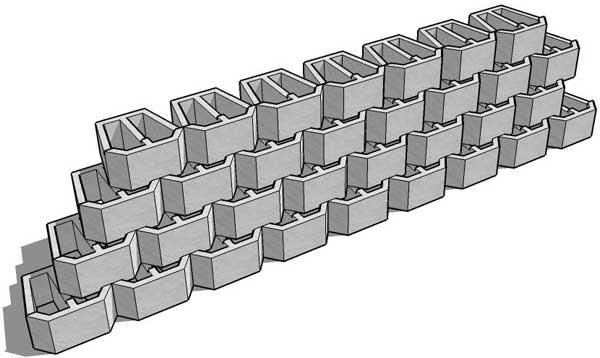 retaining wall blocks retaining wall blocks design vizimac clay pipe planter pinterest retaining wall blocks retaining walls and retaining wall - Retaining Wall Blocks Design