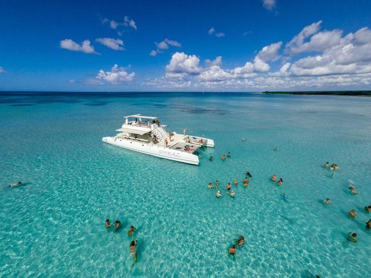 Saona Island VIP Boat Tour Punta Cana - Amstar Excursion