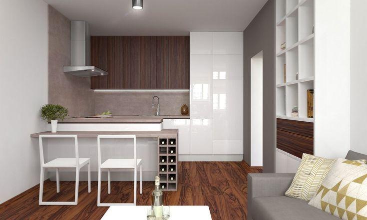 Patríte k tým šľastlivcom, ktorí môžu mať kuchyňu spojenú s obývačkou?