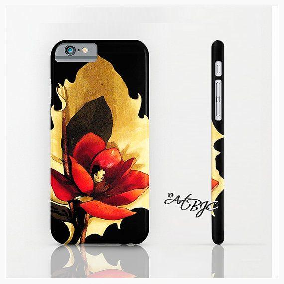 Floral iPhone Case Magnolia ArtBJC iPhone 6 Case Gifts by ArtBJC