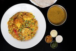 Biryani rice with chicken - PhotoStock-Israel/Stockbyte/Getty Images