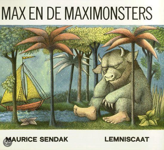 Max en de Maximonsters, Mijn lievelingsboek toen ik klein was. Itbwas already ment to be :)