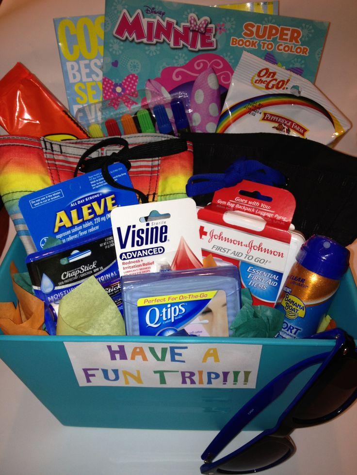 25 Unique Travel Gift Baskets Ideas On Pinterest
