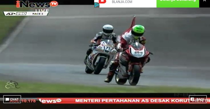 ARRC AP250 race 2 Johor Malaysia berhasil di menangkan Gerry Salim !!