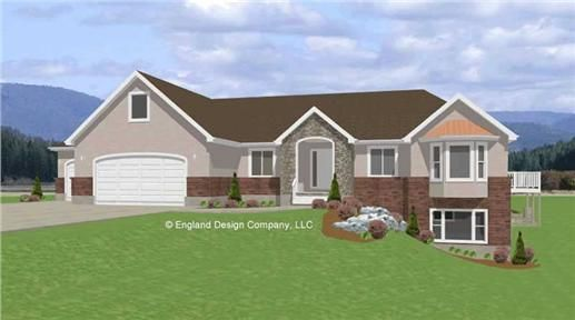 Ranch House Plans Without Garage: 1000+ Images About WALKOUT BASEMENT On Pinterest