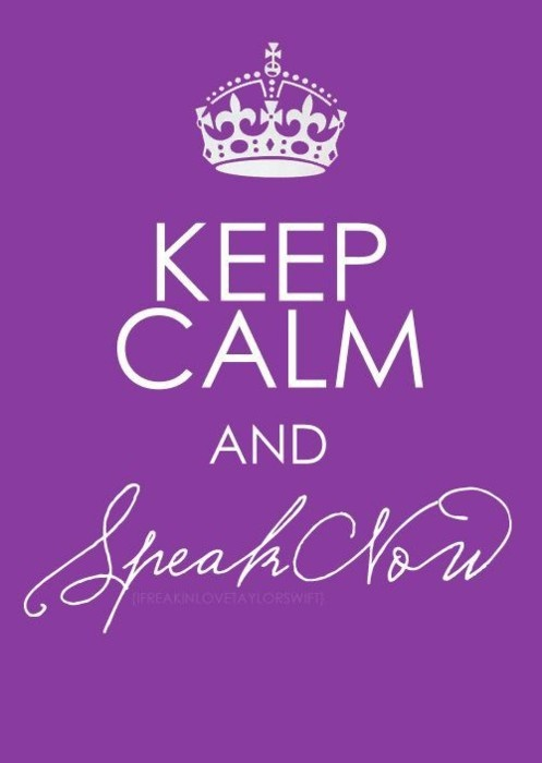 speak nowTaylor Swift, Taylorswift, Taylors Swift3, Tattoo Pattern, T Swift, Tswift, Keepcalm, Keep Calm, Taylors Swift 3