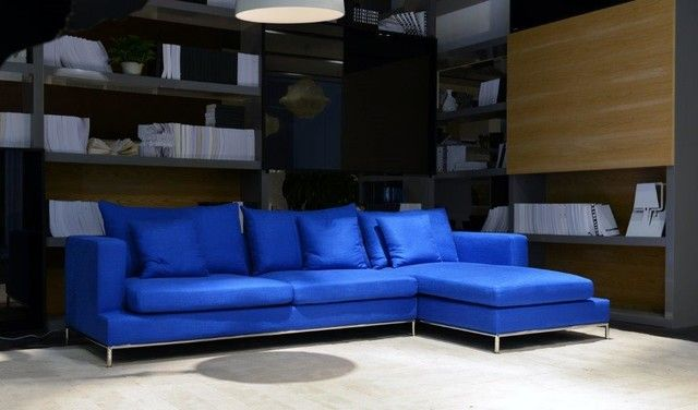 Best Blue Leather Sectional Sofa Royal Blue Sectional Sofa Home Design Ideas Facil Furniture In 2020 Sofa Home Leather Sectional Sofa Leather Sectional