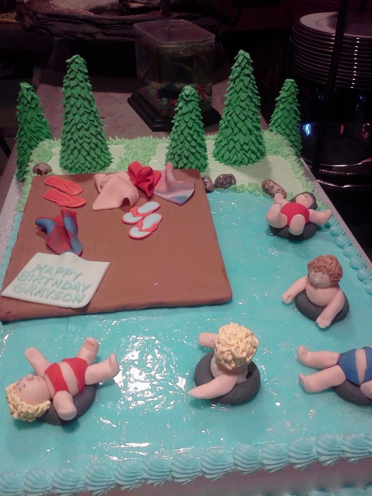 Birthday Cake That Takes The Cake Lake Cake Cool Just