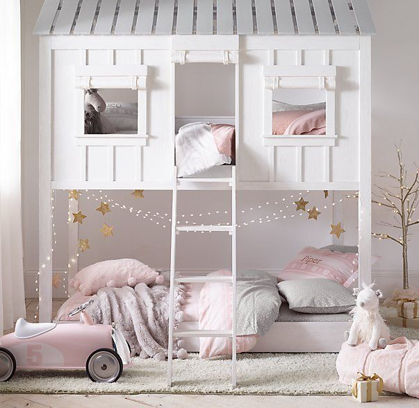 Tree house bed little Miss , childrens bed, kids bed