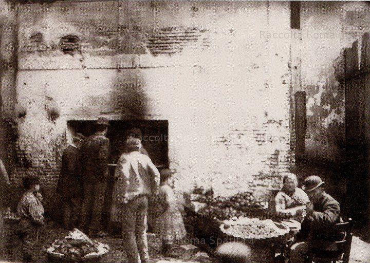 Via Rua -ghetto.venditori di frutta 1890