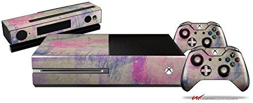 Pastel Abstract Pink and Blue - Holiday Bundle Decal Style Skin Set fits XBOX One Console, Kinect and 2 Controllers (XBOX SYSTEM SOLD SEPARATELY) - http://www.specialdaysgift.com/pastel-abstract-pink-and-blue-holiday-bundle-decal-style-skin-set-fits-xbox-one-console-kinect-and-2-controllers-xbox-system-sold-separately/